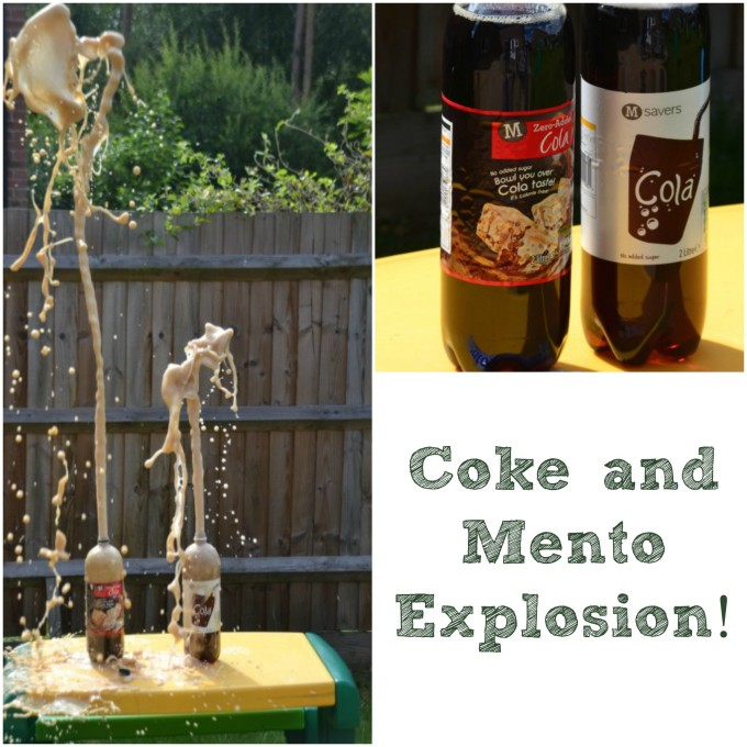 Coke and Mento Experiment