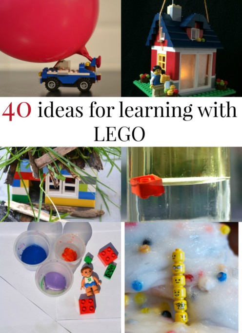 Fun ideas for learning with #LEGO #LEGOPlay