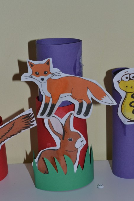 Food chain craft - fox food chain - food chains for kids