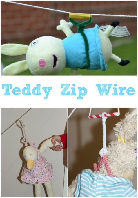 Teddy zip Wire