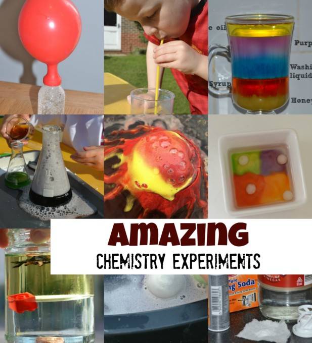 amazing chemistry experiments for kids