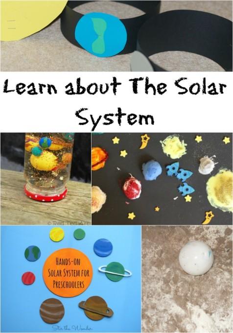 Solar system activity ideas