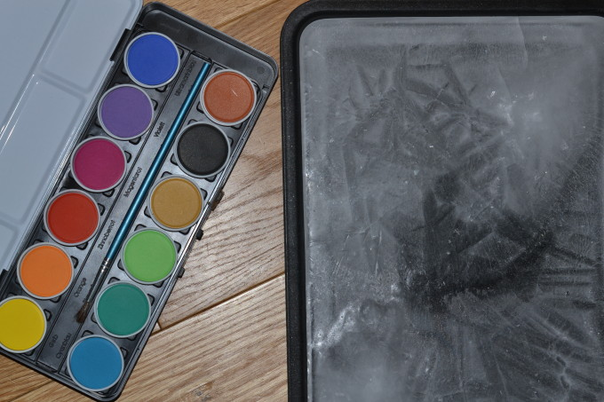 ice painting - maths games for kids