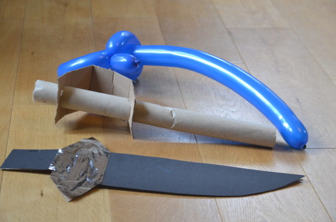 how to make a pirate sword