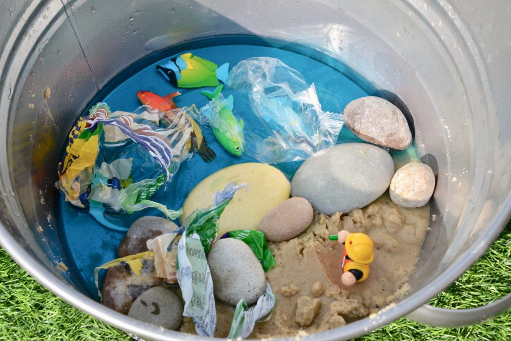 Sea Pollution Small Play set up