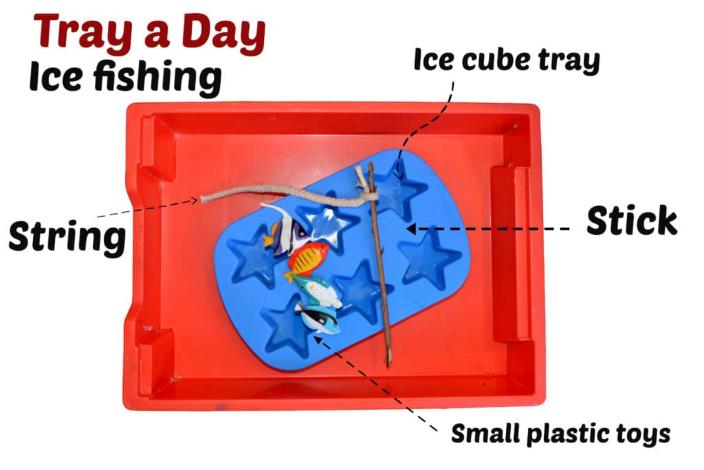 ice fishing - Tray a Day
