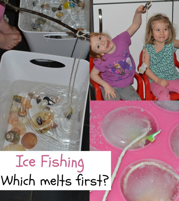 ice fishing winter science experiment