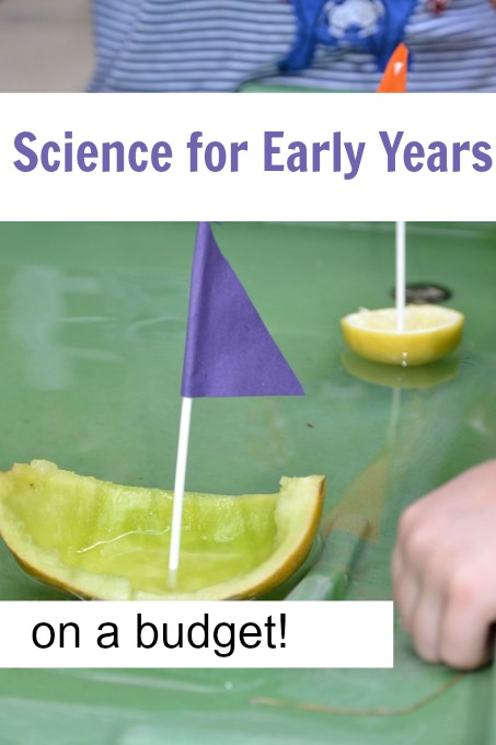 Science for early years on a budget
