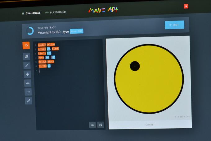 Kano make art app