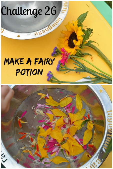 make a fairy potion