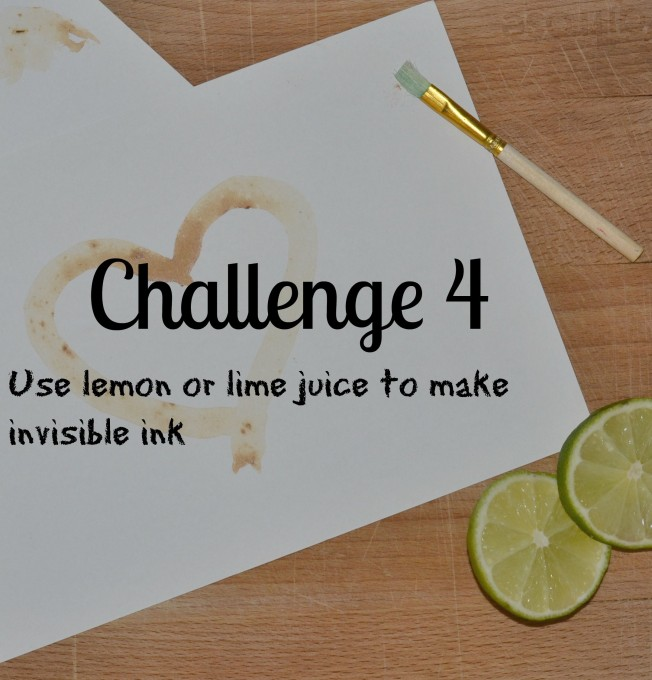 Invisible ink - easy science challenge for kids #scienceforkids #STEM #STEMChallenge