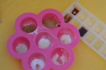 Which substances react with Baking Soda?