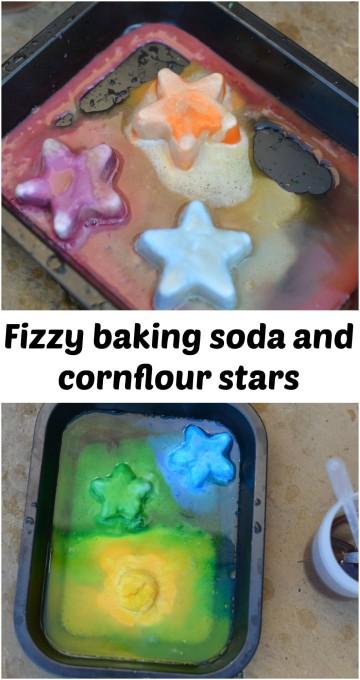 baking soda stars