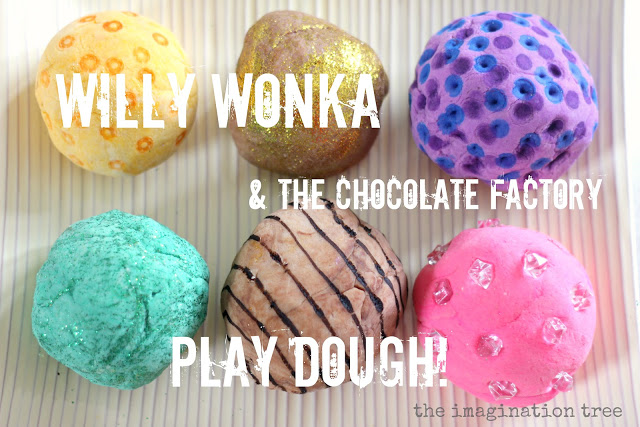 willy wonka play dough