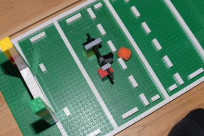 LEGO Rugby Pitch