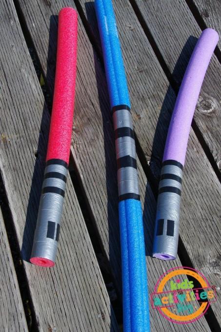 star wars pool noodle light sabre