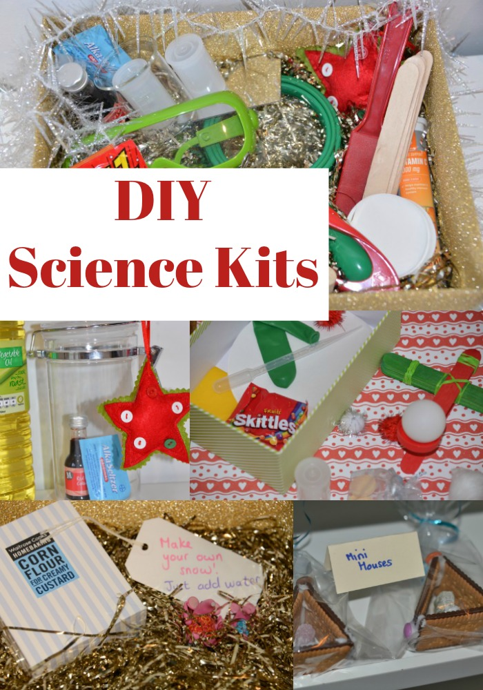 Homemade Science Kits for Christmas - homemade science gifts