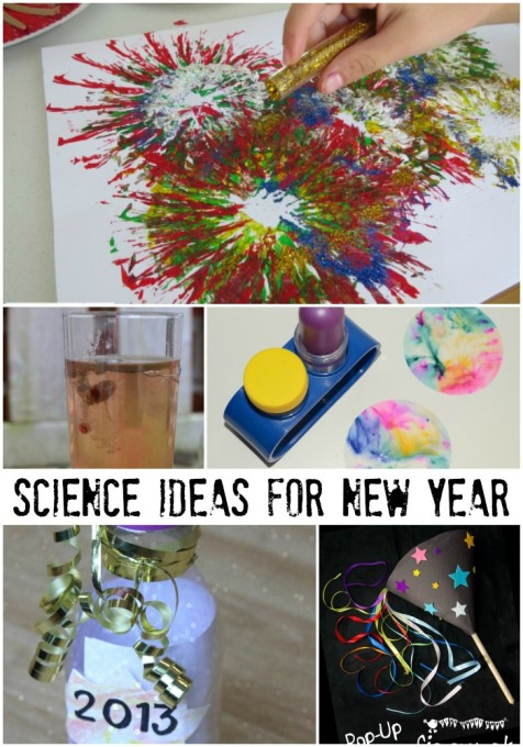 Fun science activity ideas for new year