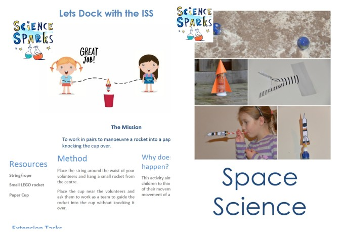 FREE space science experiments for kids - full instructions for 5 easy space experiments for kids #spacescience #spacescienceforkids