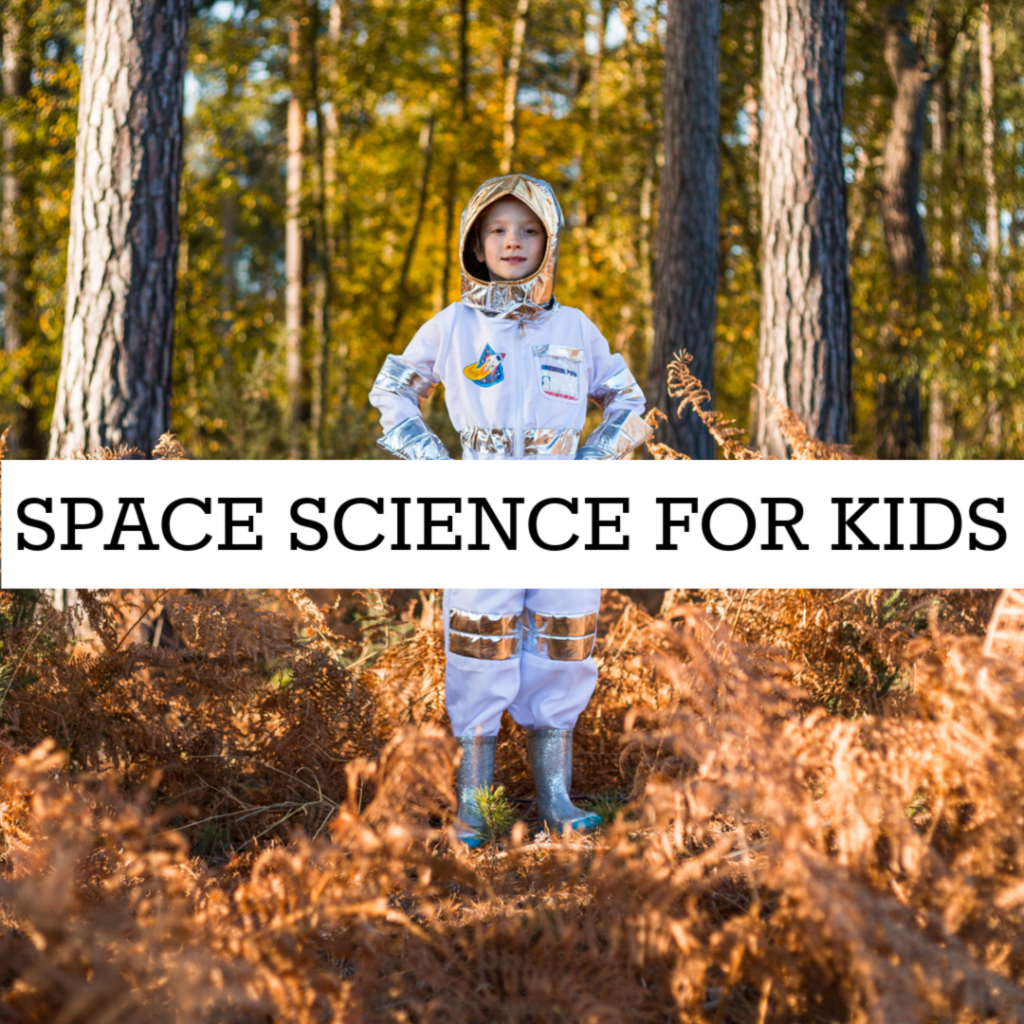 EASY SPACE SCIENCE experiments for kids - space science for kids #spacescience #scienceforkids