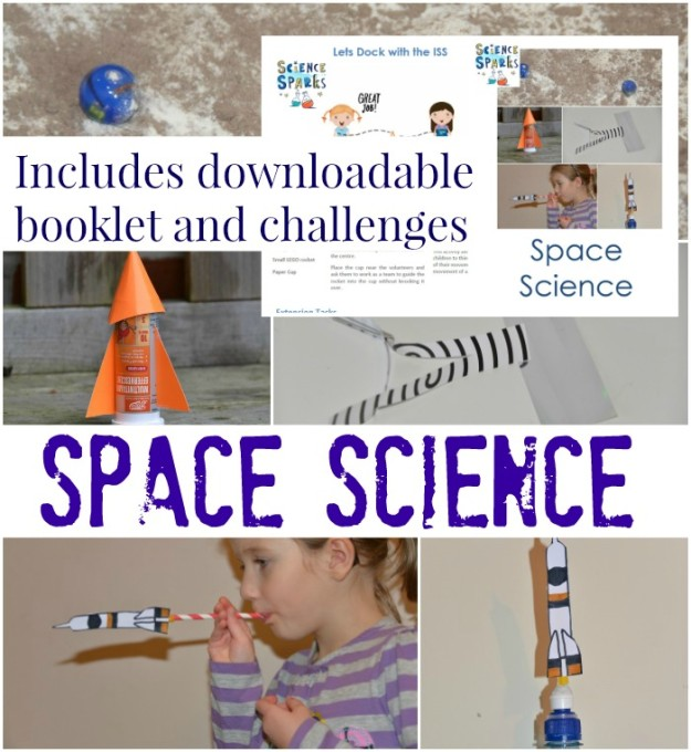 collection of easy space science experiments for kids #spacescienceexperiments