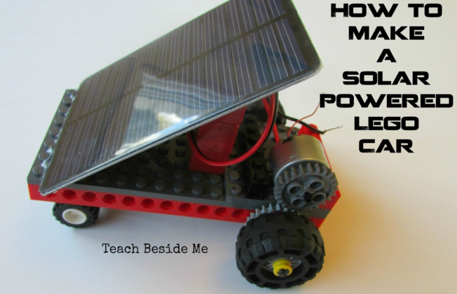 How to make a solar powered car