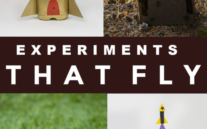 Experiments you can make FLY!! Make a bottle rocket, film caniste rocket, rocket mouse and other awesome flying experiments