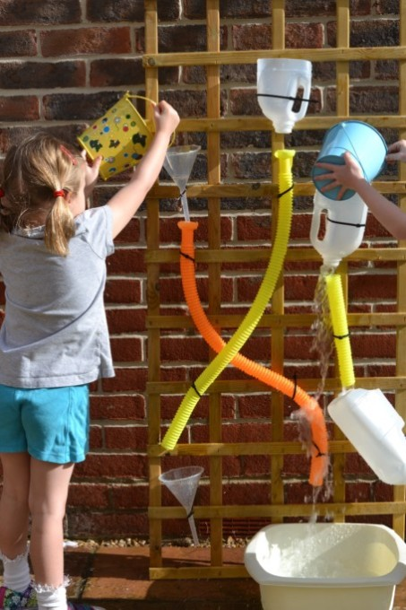 water wall for perschoolers