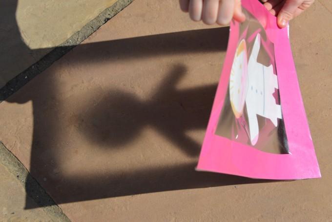 Shadow frame