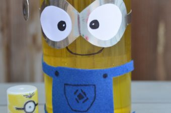 Make a Minion Lava Lamp and Rocket