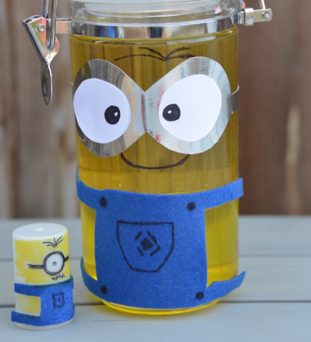 Minion activity - make a lava lamp