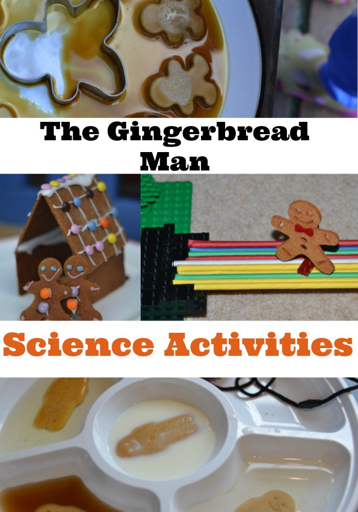 Gingerbread Man Science Activity Ideas