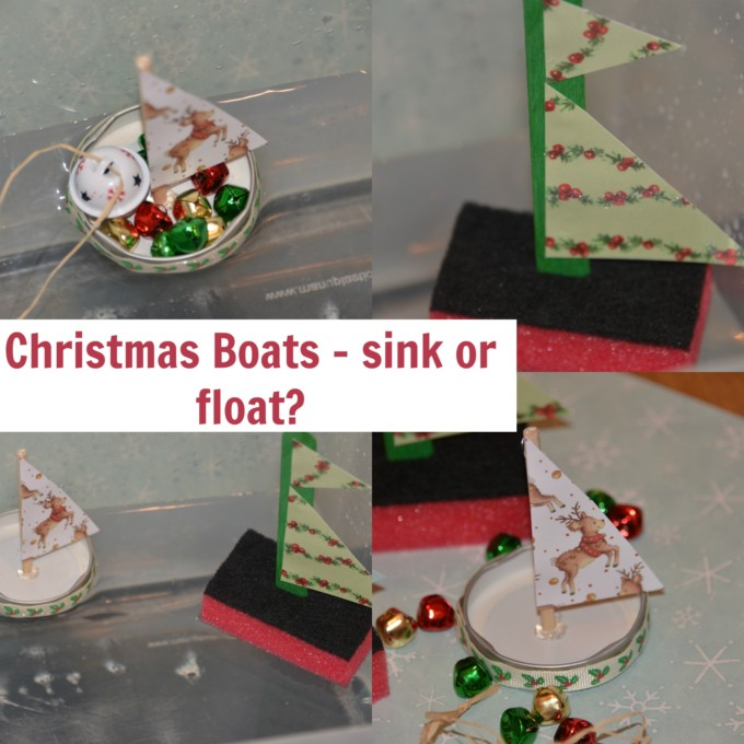 Christmas Science - building boats
