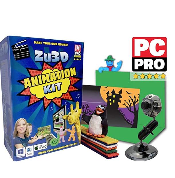 Zu3D - animation kit for kids