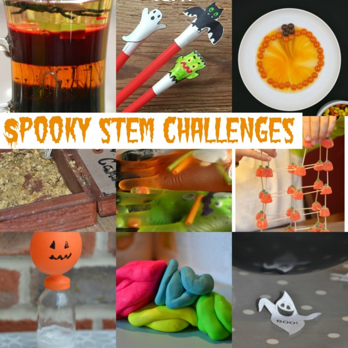 Stem challenges for Halloween
