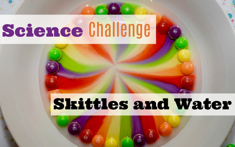 Fun candy science challenge for kids!