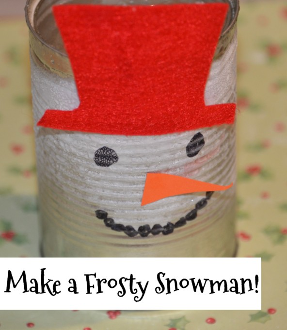 How to make a frosty snowman