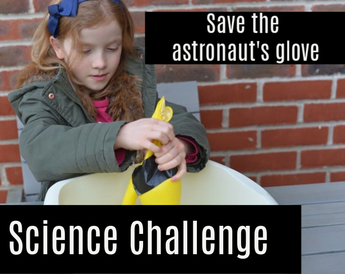 Space science challenge - fix the astronauts glove.