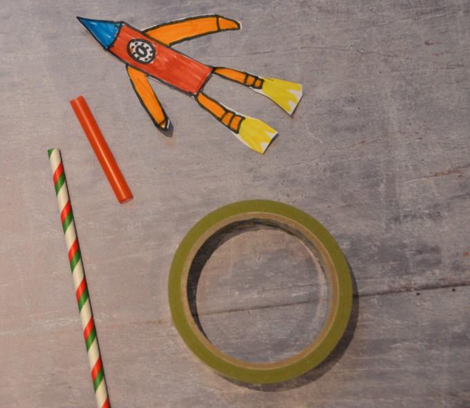 Straw Rocket