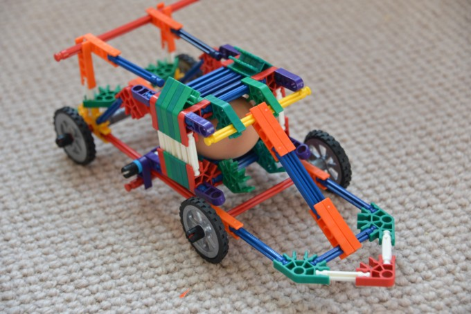 K'Nex Car for STEM Challenge