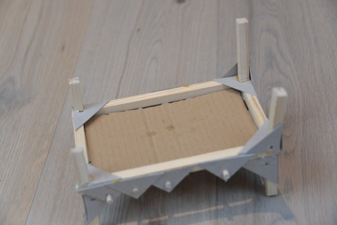Design and tech wooden bed