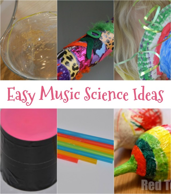 Easy music science ideas