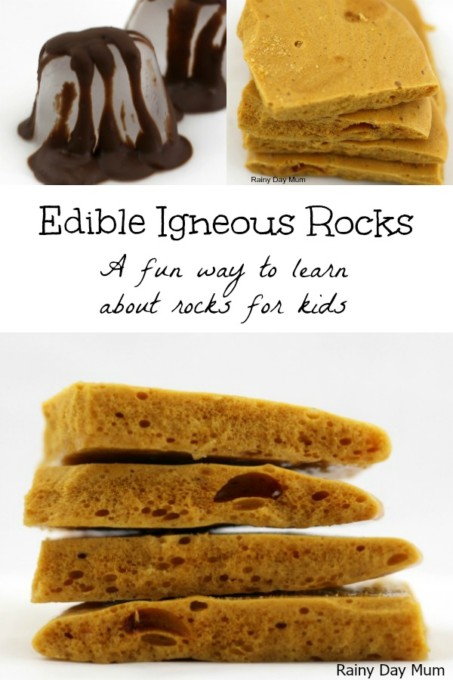 Edible Igneous rocks