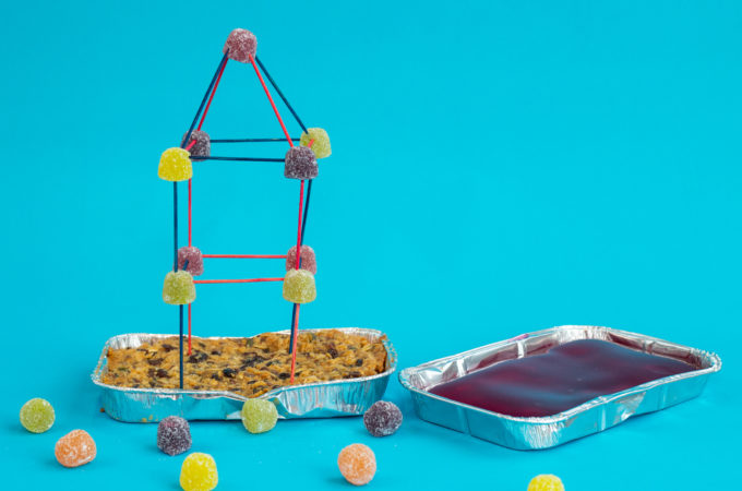 Earthquake Science Experiment - Candy towers