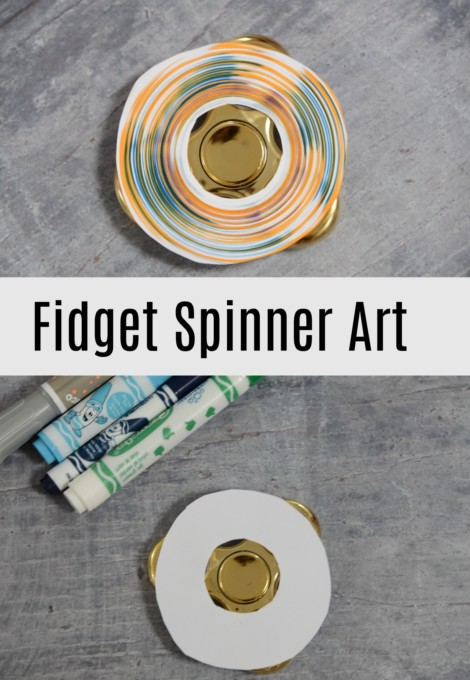 Fidget Spinner Art