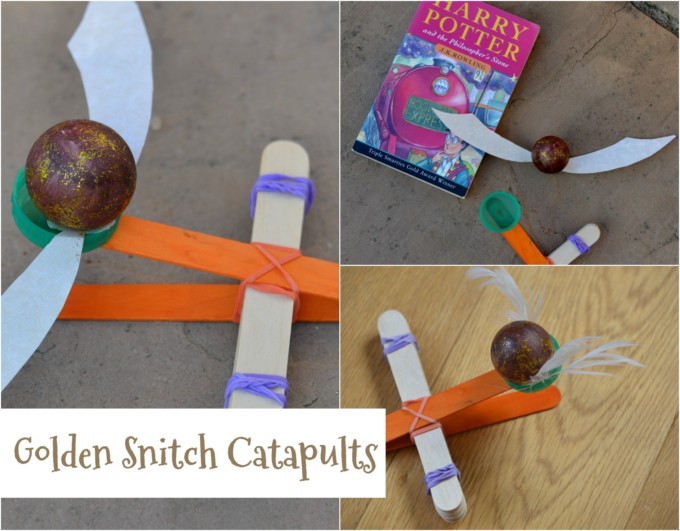 Golden Snitch Catapults