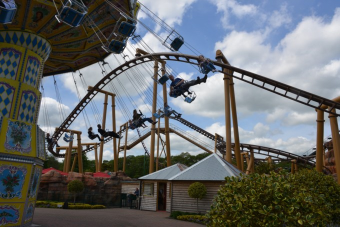 sjy swinger - Paultons Park