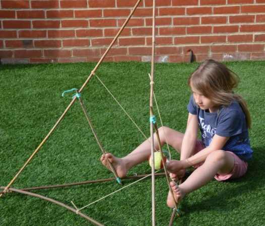 How to make a giant catapult