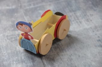How to make a Noddy Car #NoddyChallenge