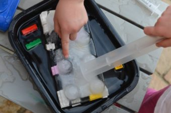 LEGO Ice excavation